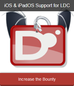 Donate to the campaign for adding iOS/iPadOS support to LDC.